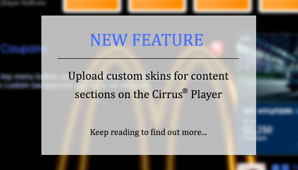 New player feature