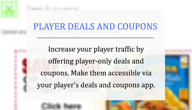 Player coupons
