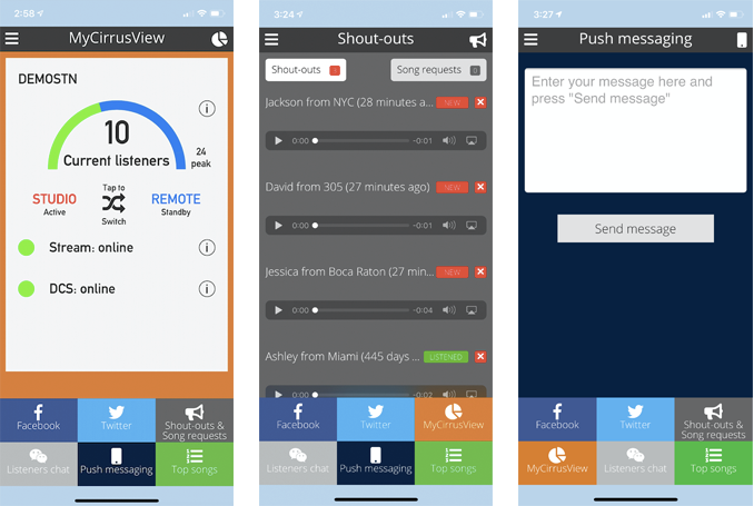 Engager app