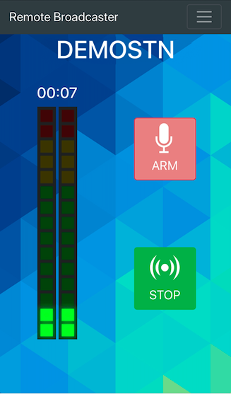 Remote Broadcaster