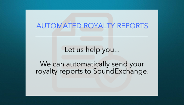 Royalty reports